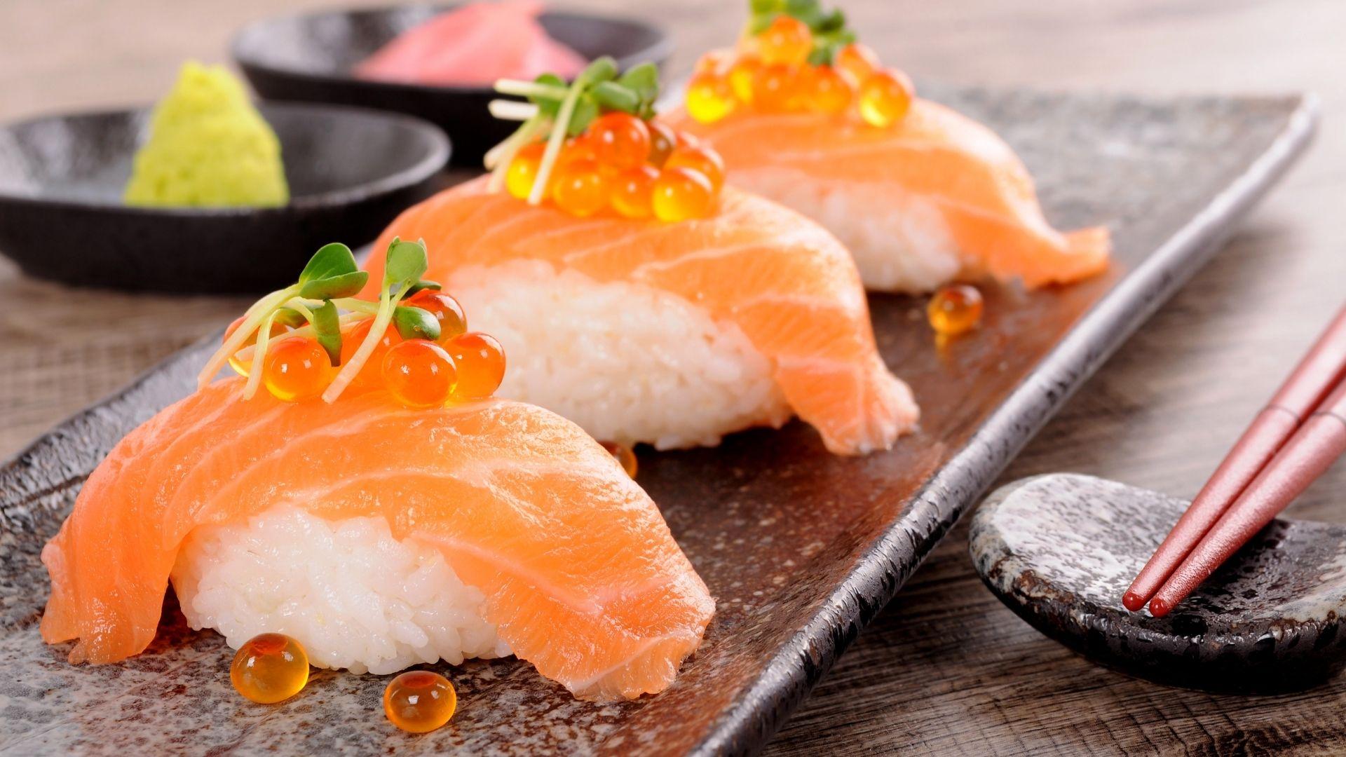 Degustation sushi